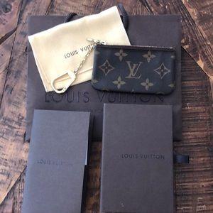 Louis Vuitton keychain coin purse